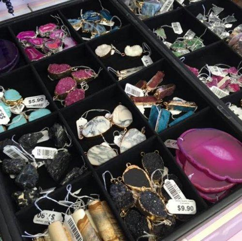 Gemstone Beads and Pendants