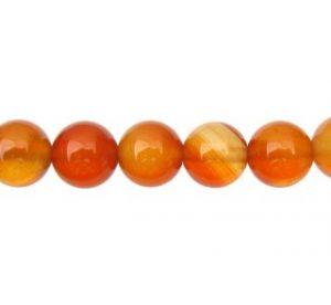 Carnelian Gemstone Beads