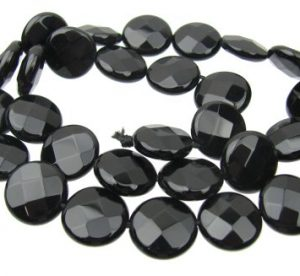Black Onyx Gemstone Beads