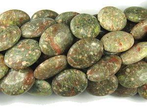 Oval Gemstone Beads