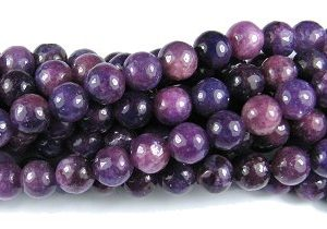 Lepidolite Gemstone Beads