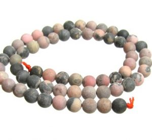 Rhodonite Gemstone Beads