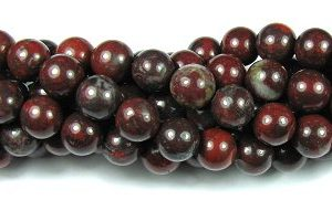 Poppy Jasper Gemstone Beads