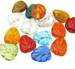 Gemstone Leaves
