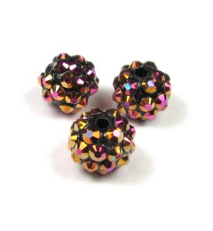 Rhinestone Resin Beads