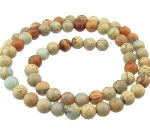 impression jasper 6mm beads