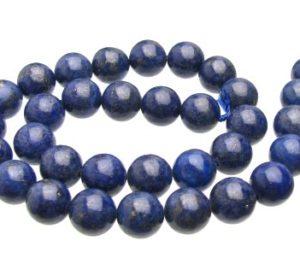 Lapis Lazuli 12mm round beads