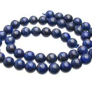 Lapis Lazuli Round Beads 8mm