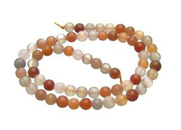 Moonstone 6mm round beads