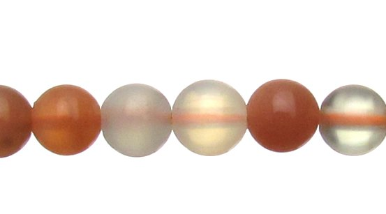 Moonstone round beads 6mm