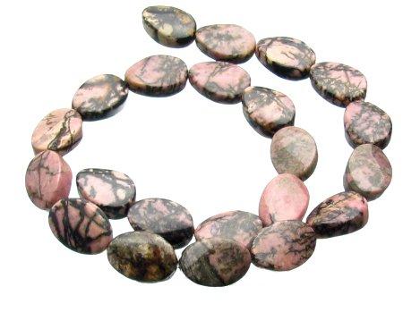 Rhodonite gemstone beads