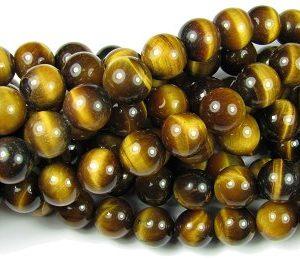 Tiger Eye Beads Round 12mm