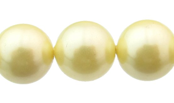 shell based pearls 10mm round