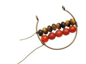 Wire Hoop Gemstone Tutorial