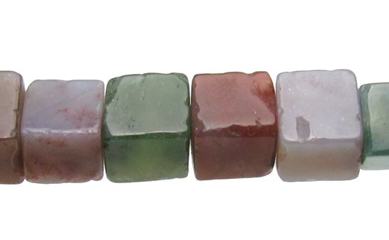 Fancy Jasper Cube 6mm