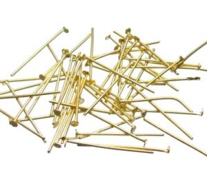 Gold 25mm headpins