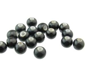 black ceramic beads for macrame
