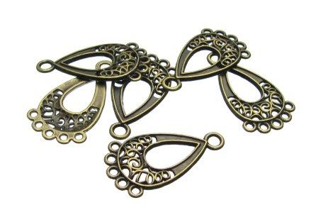 Bronze Chandelier Earring findings