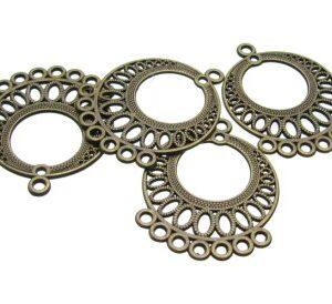 Bronze chandelier Earrigs