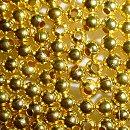 3mm gold beads