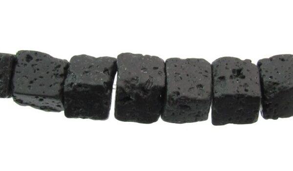 lava stone cube beads 6mm australia