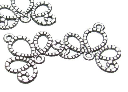 Silver Swirl connector