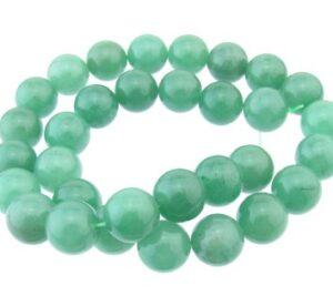 Aventurine 12mm round beads
