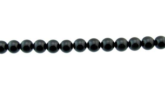 black tourmaline round beads 8mm