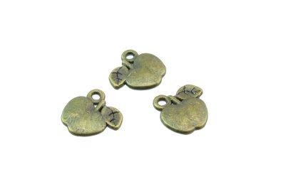 bronze apple charms