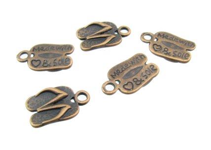 bronze thongs
