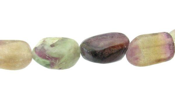 fluorite nugget gemstone beads