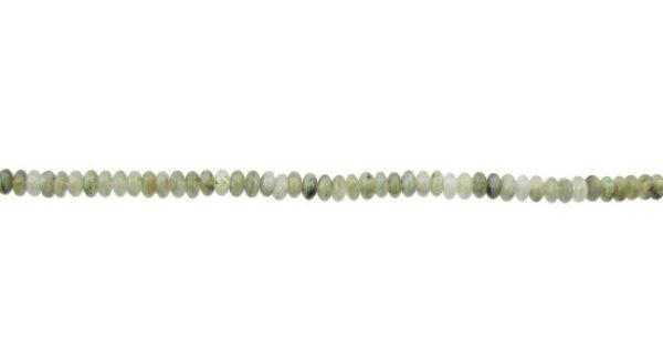 labradorite gemstone small rondelle beads 4mm