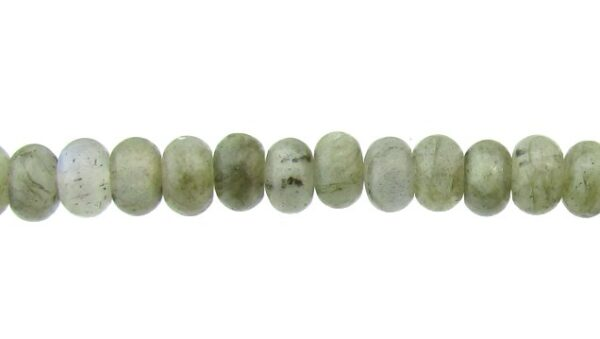 labradorite gemstone rondelle beads 6mm
