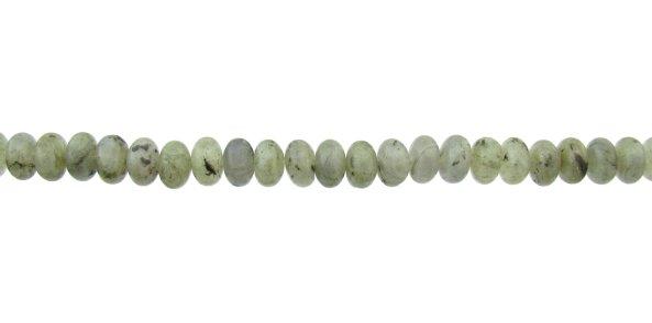 Labradorite gemstone rondelle beads 8mm