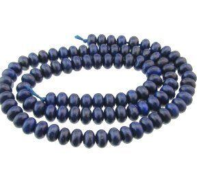 lapis lazuli rondelle beads 6mm