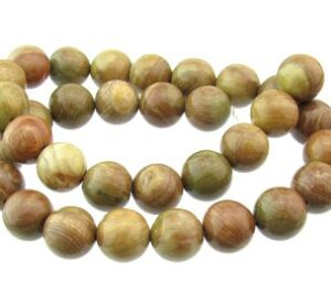 autumn jasper gemstone round beads 12mm