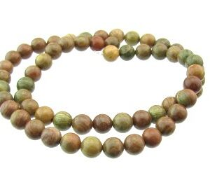 autumn jasper gemstone beads