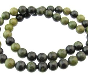 green creek jasper gemstone beads 8mm
