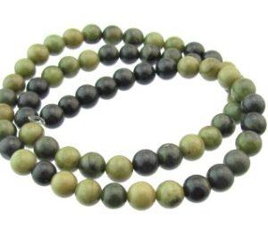 creek jasper gemstone round beads 6mm