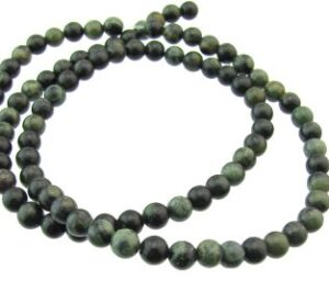 Kambaba Jasper gemstone beads 4mm