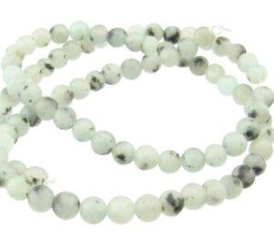 lotus jasper aka kiwi jasper gemstone beads