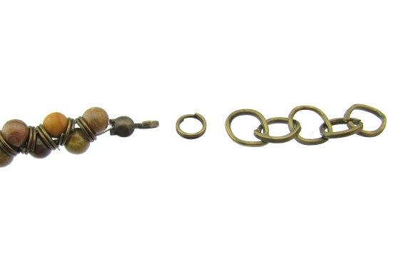 jasper beads bracelet free tutorial