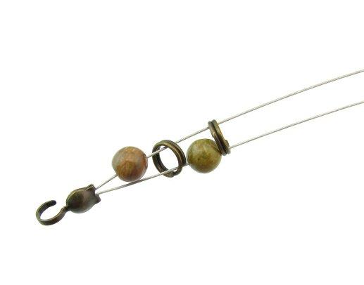 Gemstone Wrap bracelet tutorial