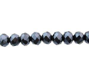 black pearl crystal beads