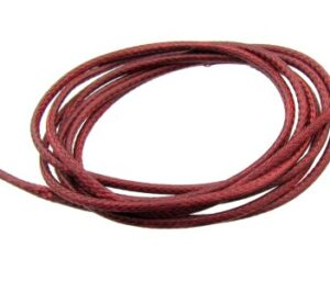 red braided polyester cord 1.5mm