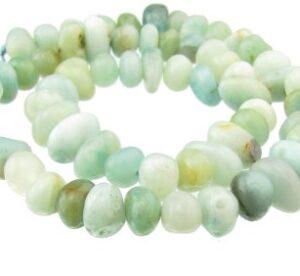 Amazonite gemstone nugget beads australia