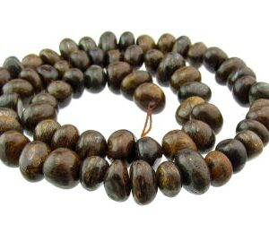 bronzite nugget gemstone beads