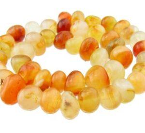 carnelian nugget gemstone beads australia