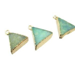 drusy pendant gemstone
