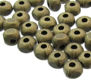 bronze spacer beads